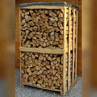 Premium Buchenbrennholz ofenfertig