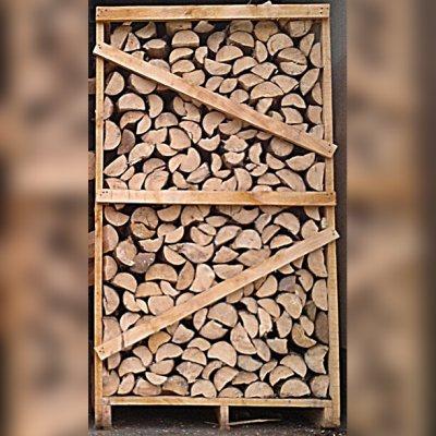Fichtenbrennholz, ofenfertig