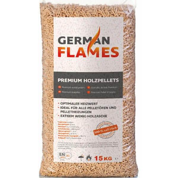 German Flames Sack